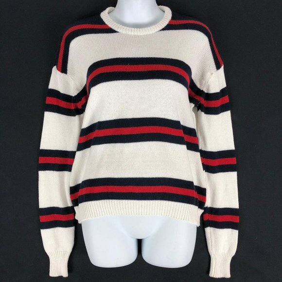 Brandy Melville Striped Sweater Knit Heavy One Siz